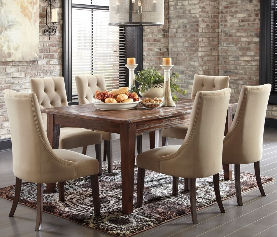 The Best In 2018 Market Of Home Dining Room Collection Throughout Market 6 Piece Dining Sets With Side Chairs (Image 23 of 25)