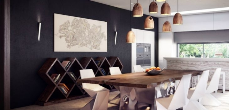 The Best Narrow Dining Table For A Small Dining Room Inside Narrow Dining Tables (View 21 of 25)