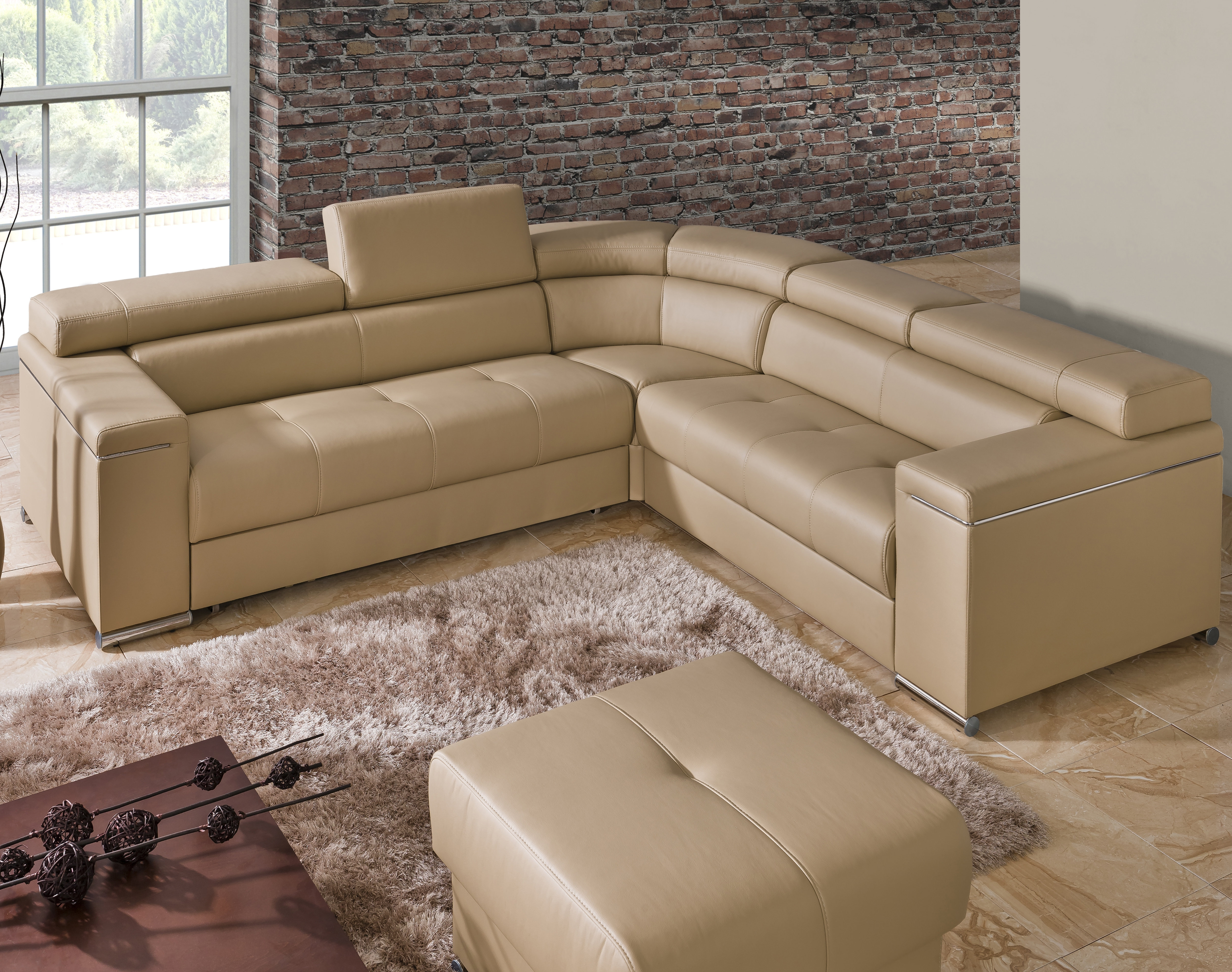 The Collection German Furniture Sleeper Sectional | Wayfair Within Blaine 4 Piece Sectionals (Image 24 of 25)
