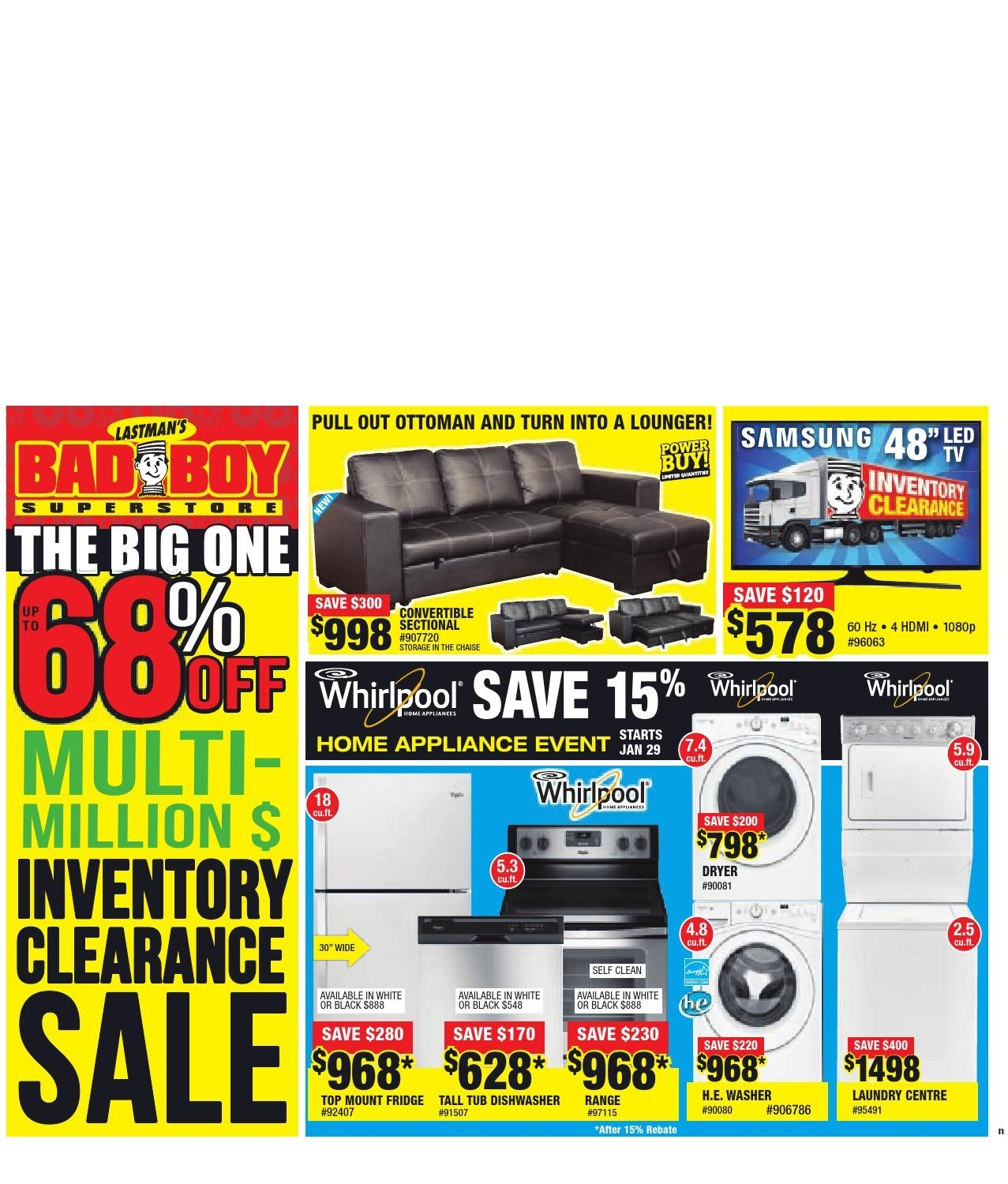 The Etobicoke Guardian North, January 28, 2016The Etobicoke In Taron 3 Piece Power Reclining Sectionals With Left Facing Console Loveseat (Image 21 of 25)