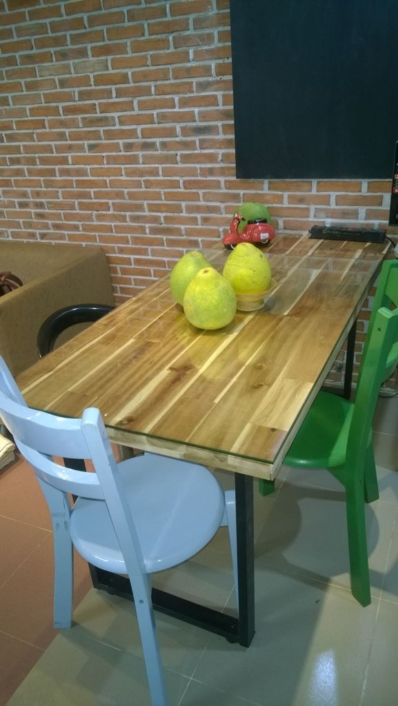 The Home Made Industrial Style Dining Table: 7 Steps (With Pictures) With Industrial Style Dining Tables (Image 24 of 25)