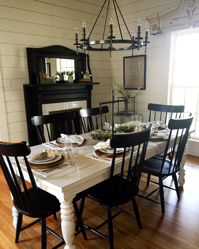 The Magnolia House | Two Peas & Their Pod Intended For Magnolia Home Breakfast Round Black Dining Tables (View 9 of 25)