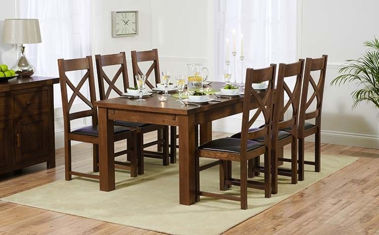 The Making Of Dark Wood Dining Table Home Decor With Plans 19 For Dark Wood Dining Tables 6 Chairs (Image 23 of 25)
