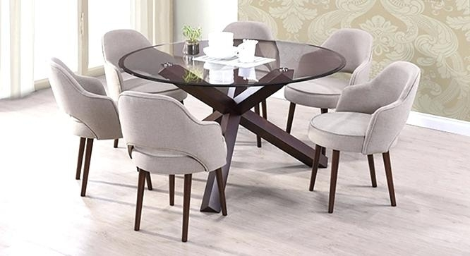 The Most Incredible Round Dining Table For 6 For Household Ideas In Regarding 6 Seater Round Dining Tables (Image 25 of 25)