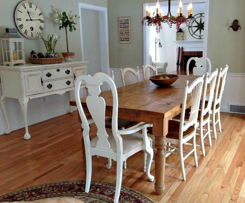 The New England Farm Table Co. | Custom, Hand Made Farm Tables And With Farm Dining Tables (Photo 9 of 25)