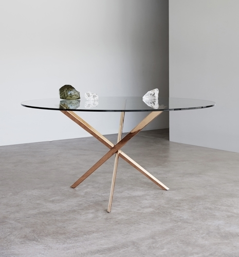The Phoenix – Metal & Glass Table – Tom Faulkner Throughout Phoenix Dining Tables (Image 25 of 25)