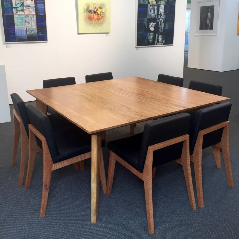 The Stirling Square Dining Table • Fine Furniture Design | Fine Art Throughout Square Dining Tables (Image 22 of 25)