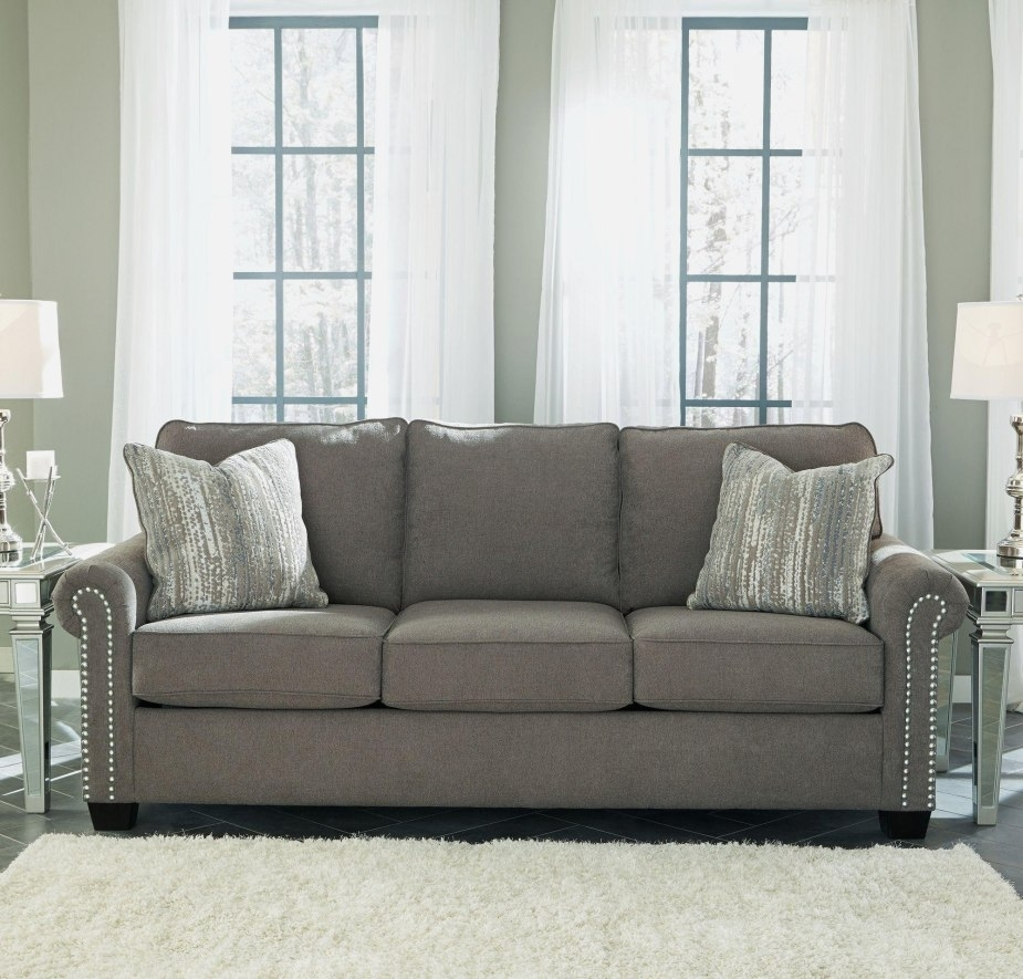 The Superior 35 Graphic Grey Microfiber Sofa Phenomenal | Yunaforum Within Egan Ii Cement Sofa Sectionals With Reversible Chaise (Image 23 of 25)
