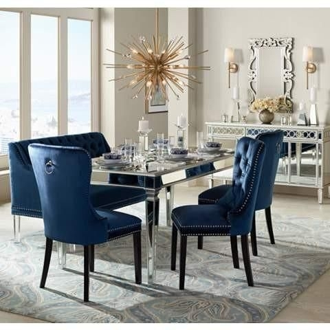 The Veronica Mirrored Dining Table | Future Home Decor! | Pinterest Intended For Mirrored Dining Tables (View 7 of 25)