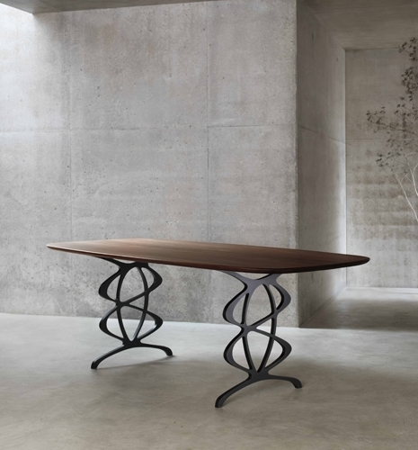 The Vienna – Modern Dining Table – Tom Faulkner Within Vienna Dining Tables (Image 15 of 25)