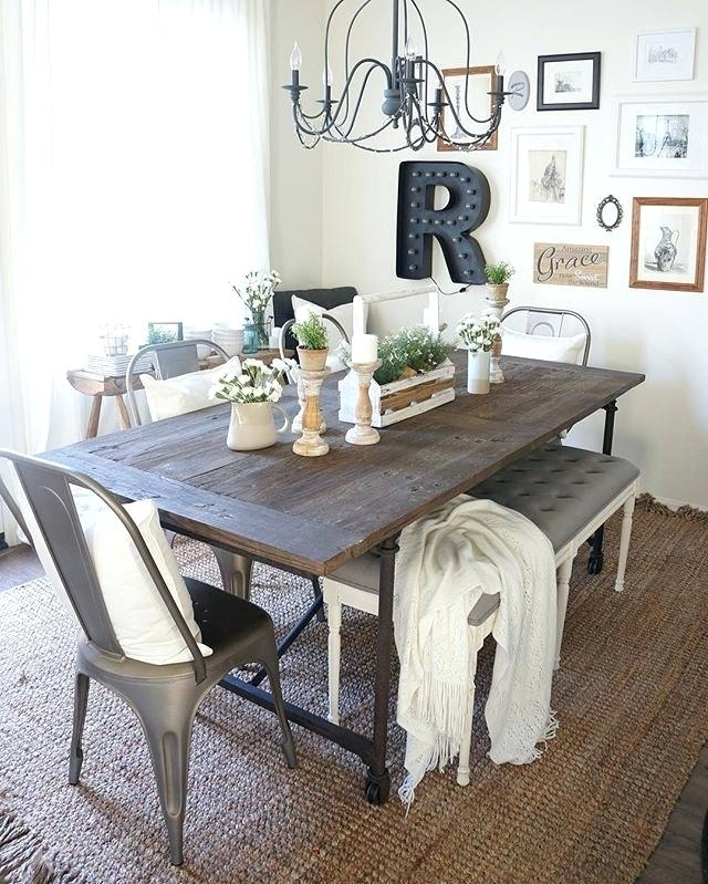 This Is Farmhouse Extension Dining Table Collection Farm House Inside Barn House Dining Tables (Image 24 of 25)