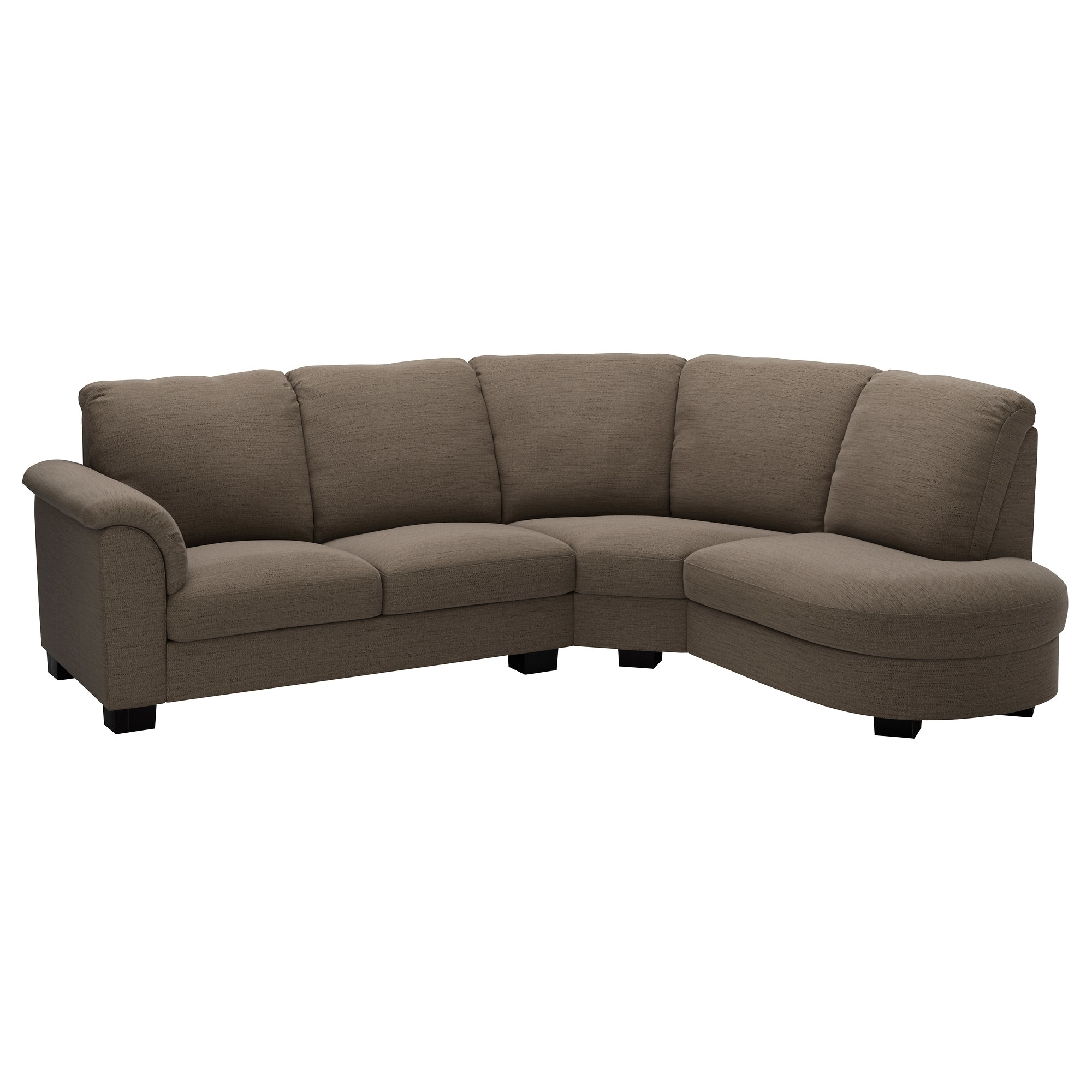 Tidafors Sectional, 3 Seat – Dansbo Medium Brown – Ikea Regarding Mesa Foam 2 Piece Sectionals (View 17 of 25)