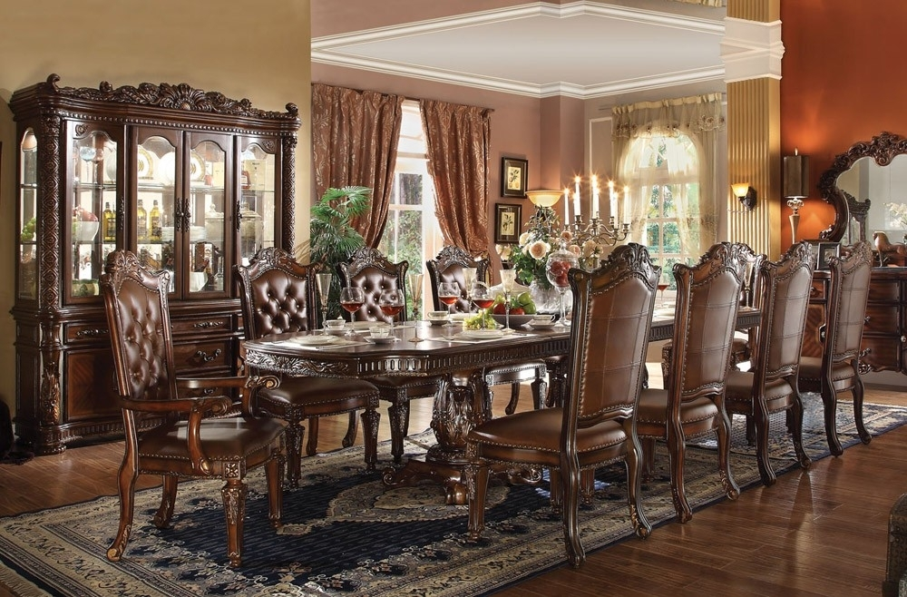 Tips For Purchasing Traditional Dining Room Sets – Blogbeen Pertaining To Traditional Dining Tables (View 5 of 25)