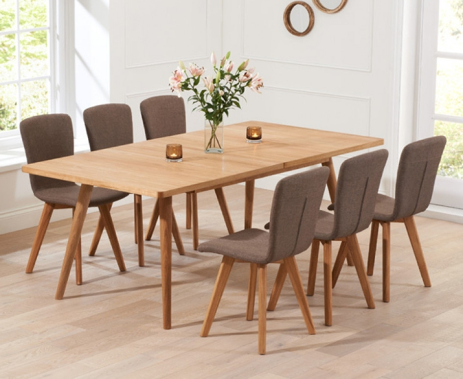 Tivoli 150Cm Retro Oak Extending Dining Table And Chairs | The Great Regarding Retro Extending Dining Tables (View 19 of 25)