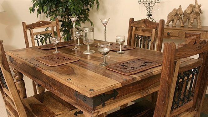 Tns Furniture | Indian Sheesham, Rosewood, Mango, Acacia, Walnut And Pertaining To Indian Wood Dining Tables (View 9 of 25)