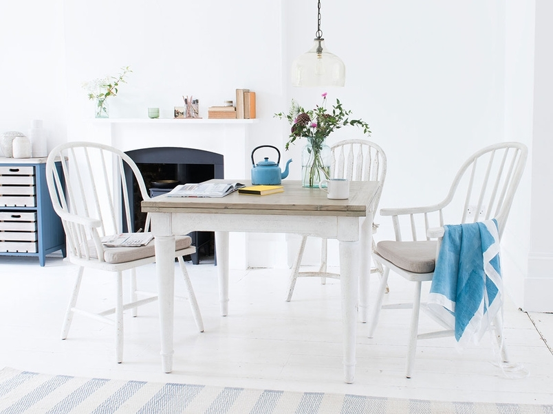 Toaster Flip Top Table In White | Extendable Dining Table | Loaf For White Extendable Dining Tables And Chairs (View 22 of 25)