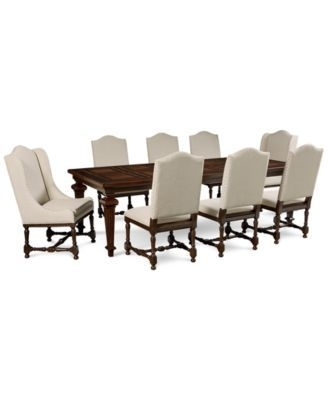 Toby 7 Piece Dining Setorren Ellis Reviews Regarding Combs 5 Piece 48 Inch Extension Dining Sets With Mindy Side Chairs (Image 25 of 25)