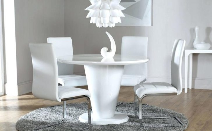 Tokyo White High Gloss Extending Dining Table And 6 Chairs Set Perth Inside Perth White Dining Chairs (Image 24 of 25)