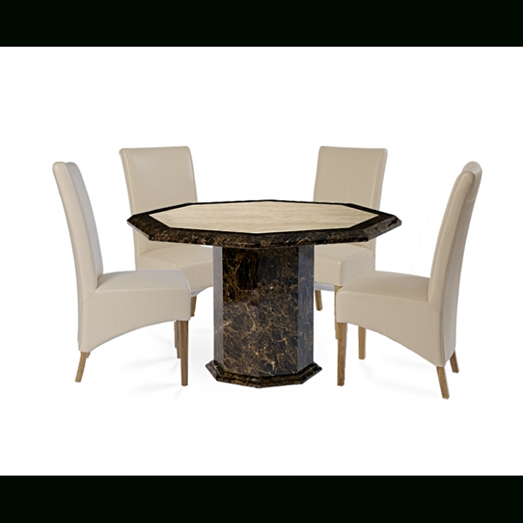 Toledo Octagon Roma Set | Free Assembly | Oak Furniture House Intended For Roma Dining Tables And Chairs Sets (View 13 of 25)