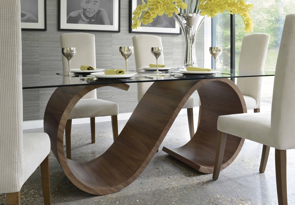 Tom Schneider Swirl Dining Table | Dining Tables Pertaining To Dining Tables (Image 25 of 25)