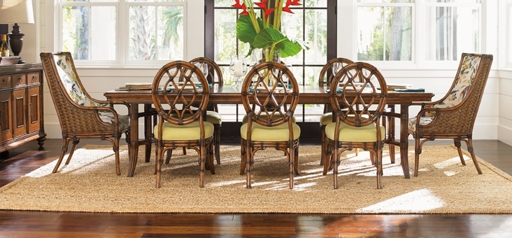 Tommy Bahama Bali Hai Dining Collectiondining Rooms Outlet Regarding Bali Dining Tables (Image 24 of 25)