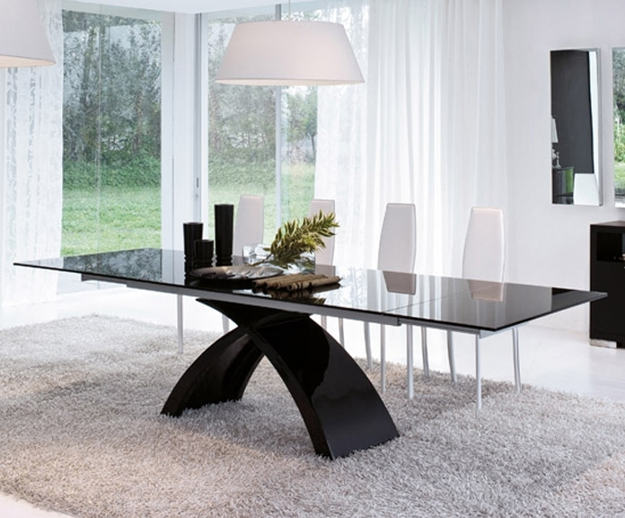 Tonin Casa – Tokyo – Dining Table – Extension Intended For Tokyo Dining Tables (Image 23 of 25)