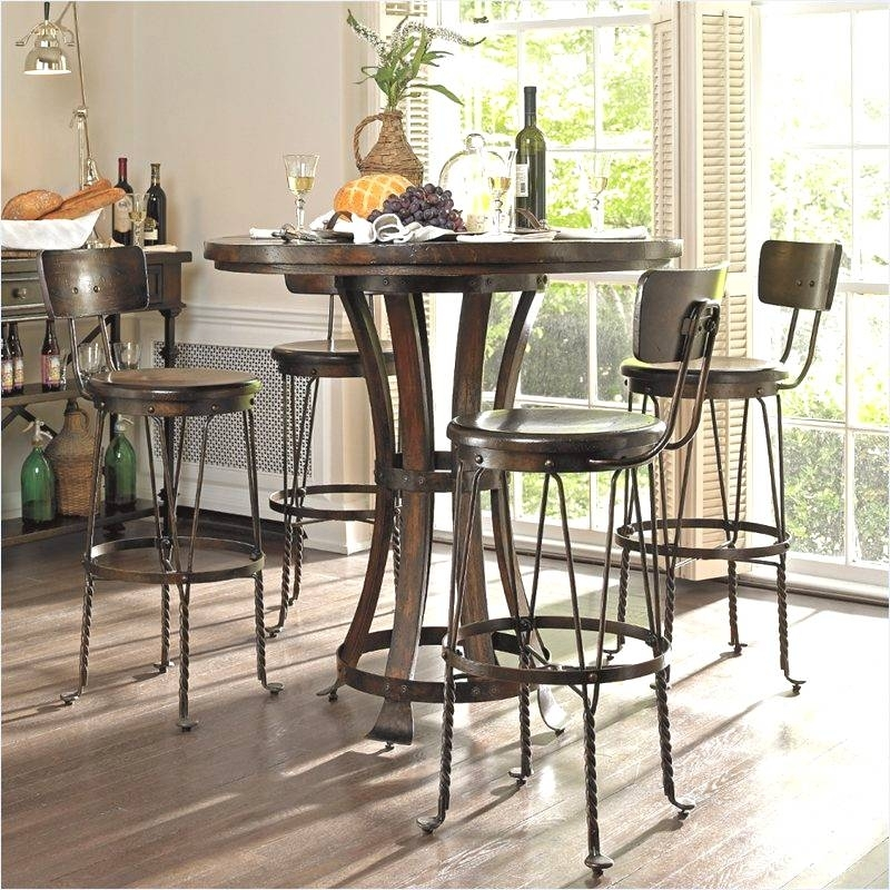 Top Brilliant Winsome Pub Table Pertaining To Property Ideas With Cora 5 Piece Dining Sets (Image 22 of 25)