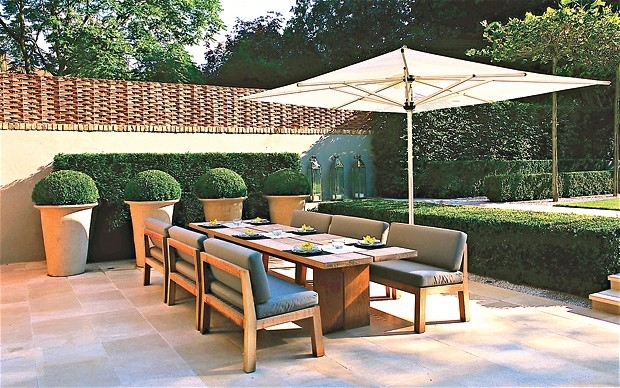 Top Designers' Favourite Garden Furniture In Pictures – Telegraph For Garden Dining Tables (View 14 of 25)
