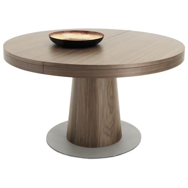 Top Granada Occa 5500 Round Extending Dining Table About Extendable In Round Extendable Dining Tables (Image 24 of 25)