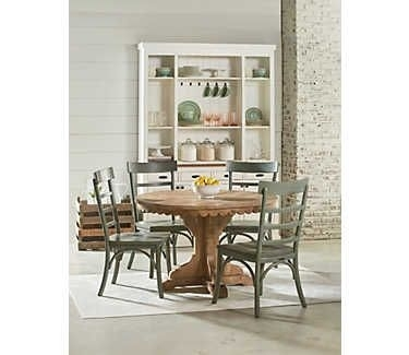 Top Tier Round Pedestal Table | Kitchen~Dining | Pinterest With Regard To Magnolia Home Top Tier Round Dining Tables (Image 24 of 25)