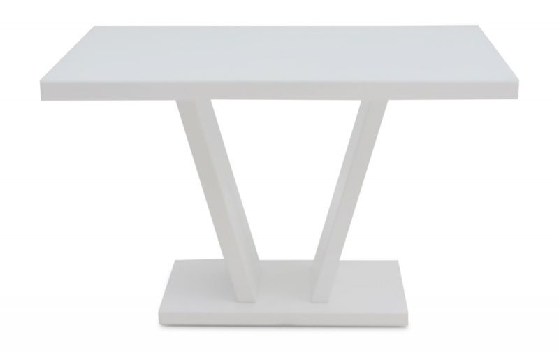 Torelli Valentino 120Cm White High Gloss Dining Table | Torelli.co (Image 22 of 25)