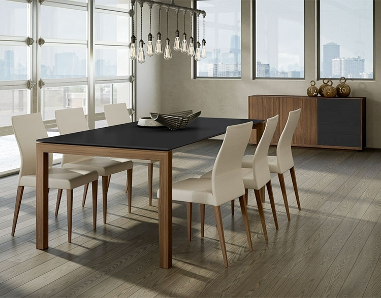 Torelli Vinci Dining Table – Sarasota Modern & Contemporary Furniture Throughout Contemporary Dining Furniture (Image 25 of 25)
