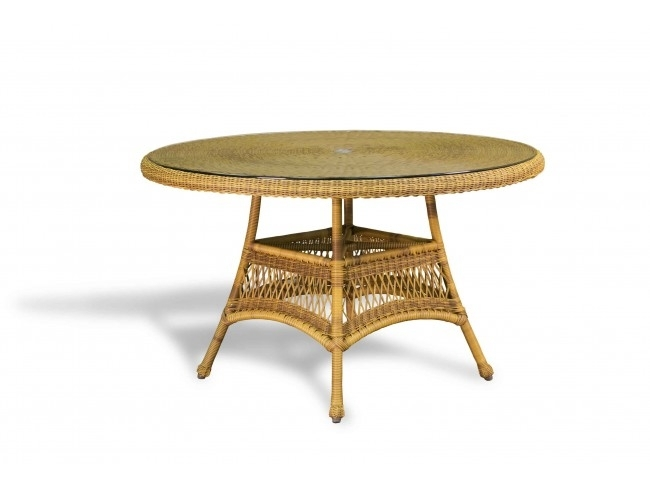 """Tortuga Lexington 48"""" Round Dining Table (Tor Lex Dt1)Www Throughout Outdoor Tortuga Dining Tables (Image 10 of 25)"""