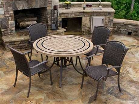 Tortuga Outdoor Dining Sets | Luxedecor Regarding Outdoor Tortuga Dining Tables (Image 14 of 25)