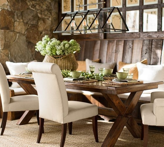 Toscana Extending Rectangular Dining Table | Pottery Barn (View 11 of 25)