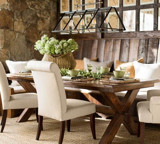 Toscana Extending Rectangular Dining Table | Pottery Barn (Image 21 of 25)
