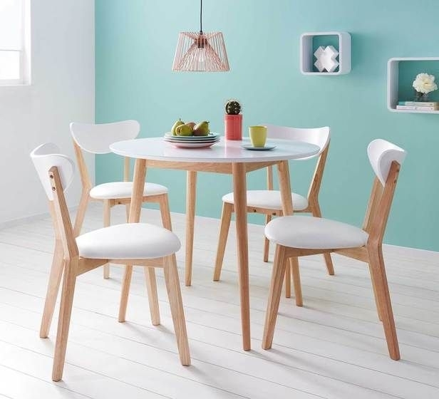 Toto 5 Piece Dining Set | Dining Sets | Dining Room | Living Intended For Valencia 5 Piece Round Dining Sets With Uph Seat Side Chairs (Image 24 of 25)