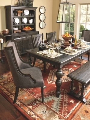 Townser Dining Room Chair (Set Of 2)Ashley Homestore, Brown With Chandler 7 Piece Extension Dining Sets With Fabric Side Chairs (Image 23 of 25)