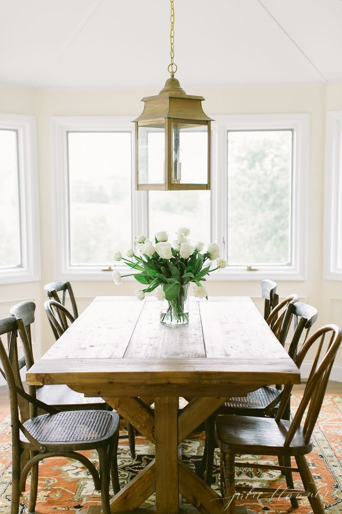Traditional Breakfast Room / Dining Area | Design Trend: Artisanal Within Artisanal Dining Tables (View 18 of 25)