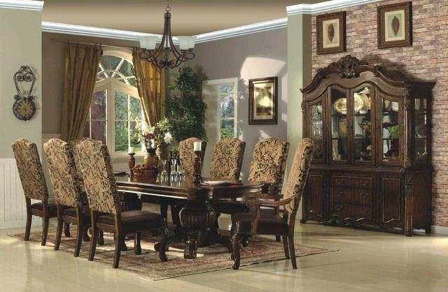 Traditional Dining Room Table – Briefingroom Intended For Traditional Dining Tables (Image 16 of 25)