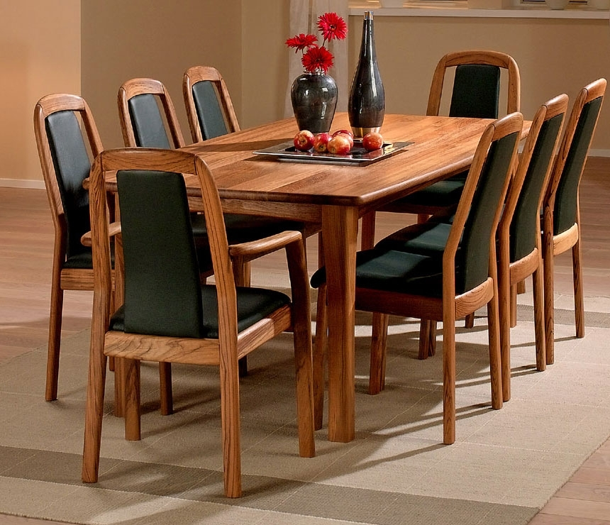Traditional Dining Room Tables – Solid Wood Wharfside Danish Furniture Regarding Traditional Dining Tables (Image 17 of 25)