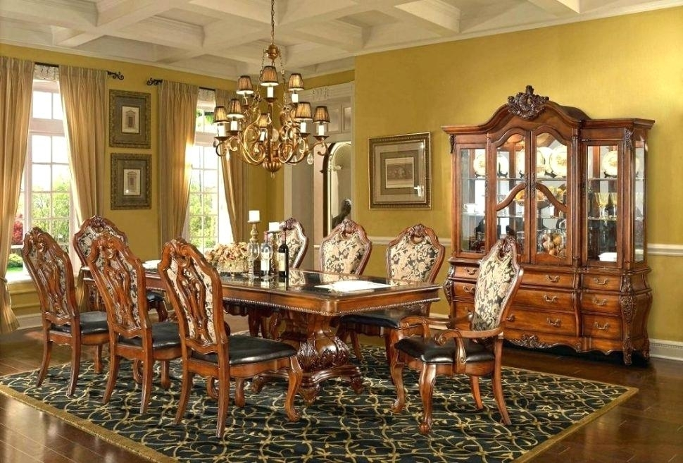 Traditional Dining Table – Bplnetworks for Traditional Dining Tables