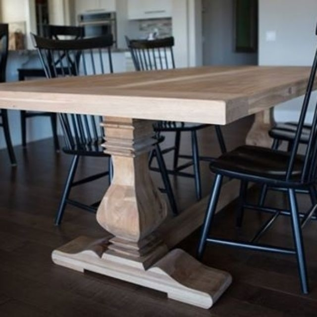 Traditional Dining Tables | Custommade Throughout Traditional Dining Tables (Image 24 of 25)