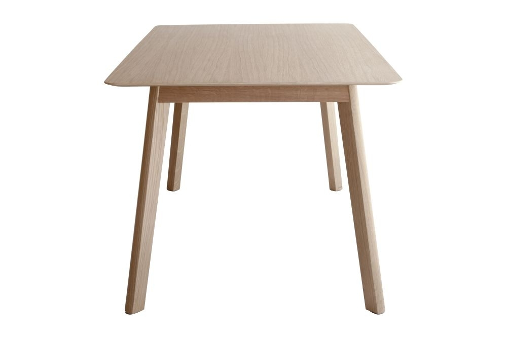 Transalpina Dining Table, Non Extendable Super Matt Oak, 140Cm For Non Wood Dining Tables (Image 25 of 25)