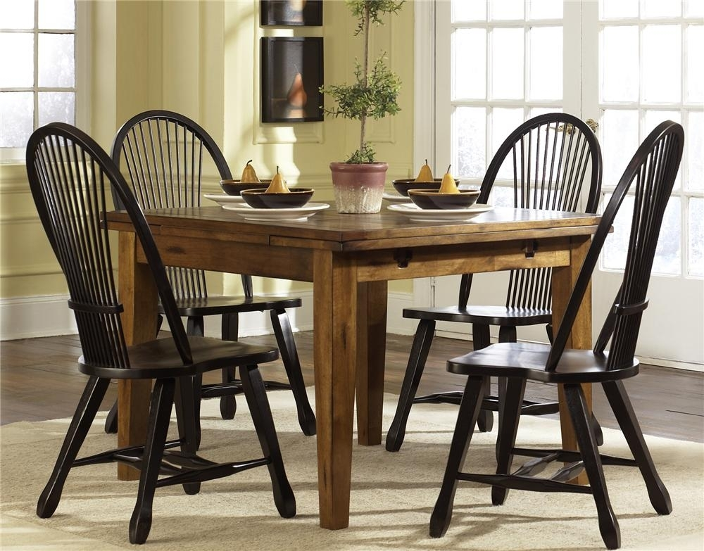 Treasures Retractable Leg Table | Rotmans | Dining Room Table Throughout Craftsman 7 Piece Rectangular Extension Dining Sets With Arm & Uph Side Chairs (Image 25 of 25)