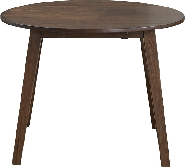 Trent Austin Design Caracara Round Dropleaf Extendable Dining Table Regarding Drop Leaf Extendable Dining Tables (Image 24 of 25)