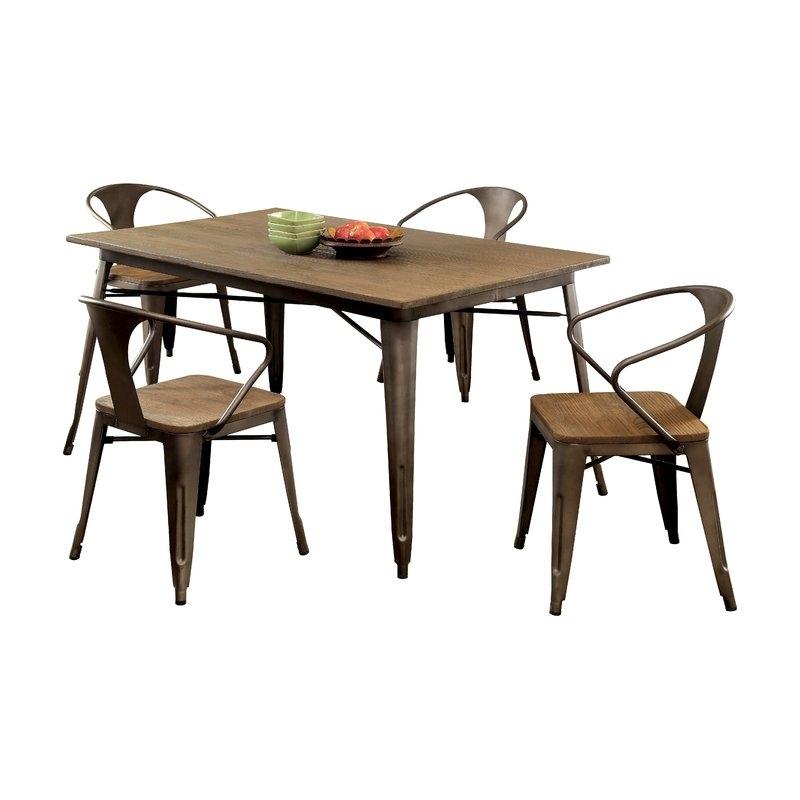Trent Austin Design Reedley 5 Piece Dining Set | Wayfair Regarding Patterson 6 Piece Dining Sets (Image 24 of 25)