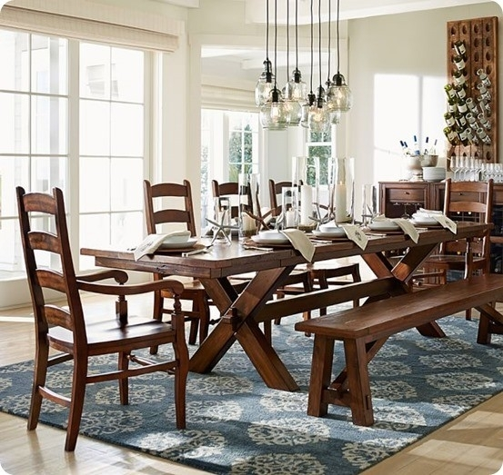 Trestle Dining Table For $300 Pertaining To Toscana Dining Tables (Image 23 of 25)