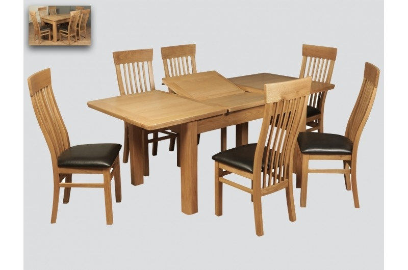 Treviso Oak 6Ft Extension Dining Table – 2346 – Solid With Rocco Extension Dining Tables (View 25 of 25)