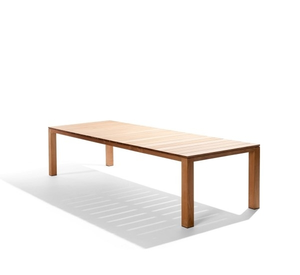 Tribu Kos Dining Table Outdoor In Teak | Mohd Shop With Regard To Outdoor Brasilia Teak High Dining Tables (Image 25 of 25)